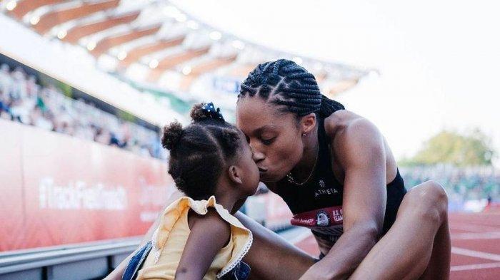 Lewat Olimpiade Tokyo 2020, Sprinter Allyson Felix Beri Pesan Khusus untuk Anaknya