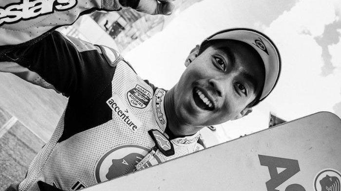Almarhum Afridza Munandar semasa masih aktif membalap di IATC 2019.