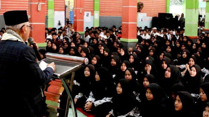Harapan KH Ma'ruf ke Santri Ogan Ilir: Jadi Kader Bangsa dan Mengawal Agama