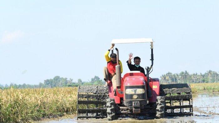 Produktivitas Meningkat, Alat Mesin Pertanian Tandai Modernitas Pertanian di Landak Kalbar