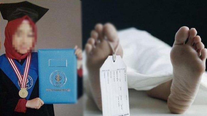 AN (22) alumni IPB ditemukan tewas dengan kondisi luka di tubuhnya di pinggir sawah di daerah Sukabumi.