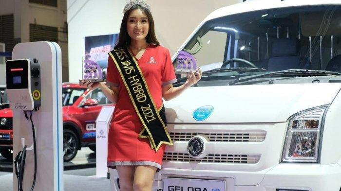 DFSK Gelora E Sabet Best Favorite New Car Launch di IIMS Hybrid 2021