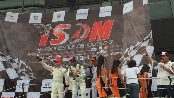 Alvin Bahar Tangguh Meski Runner-up di Seri Pembuka Indonesia Sentul Series of Motorsport 2017