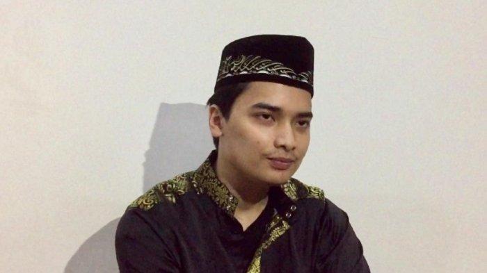 Muhammad Alvin Faiz di Pondok Pesantren Gunung Sindur, Bogor Jawa Barat, Senin (27/5/2019).