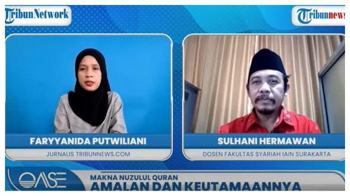 Amalan Nuzulul Quran di OASE Tribunnews.com.