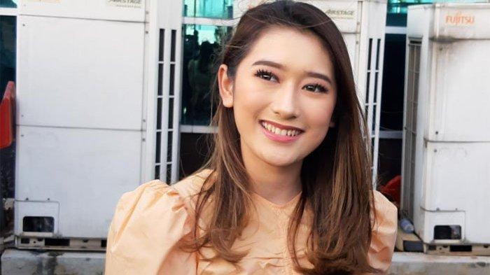Amanda Caesa ketika ditemui di gedung Trans TV, Jalan Kapten Tendean, Mampang Prapatan, Jakarta Selatan, Jumat (25/12/2020).