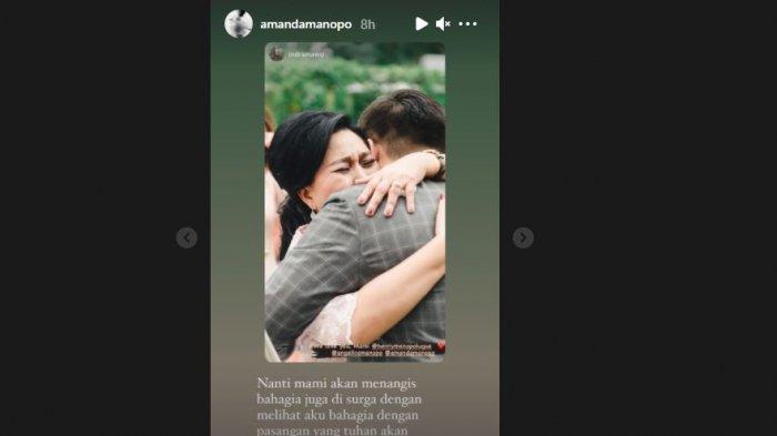 Amanda Manopo ingin ibunya tersenyum saat ia dapat pasangan yang tepat