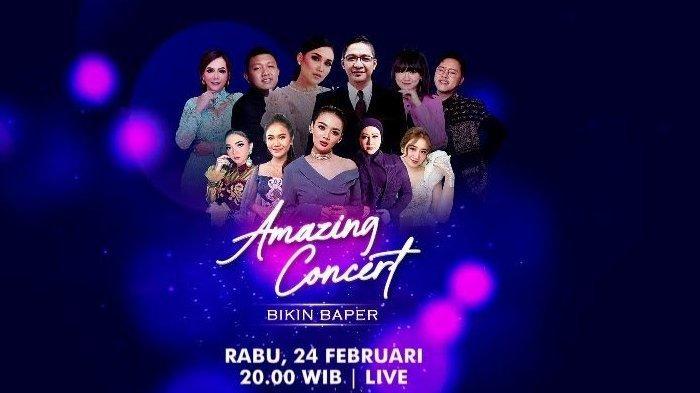 Ayu Ting Ting, Denny Caknan, Happy Asmara Siap Hibur Sobat Patah Hati Lewat Amazing Concert GTV