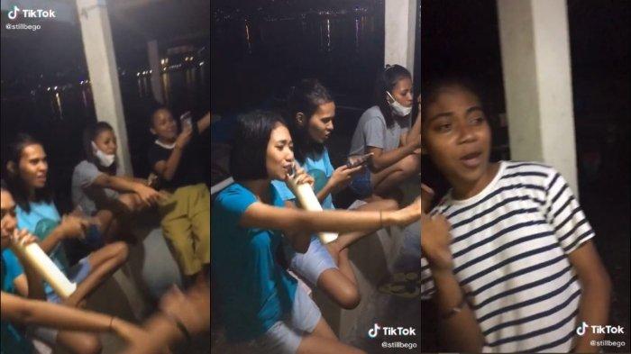 VIRAL Merdunya Suara Para Gadis Ambon Nyanyi Lagu Jang Ganggu, Panen Pujian Netizen