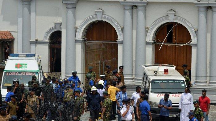 Salah Seorang Pelaku Sempat Gugup dan Gelisah Sebelum Meledakkan Bom Bunuh Diri di Sri Lanka