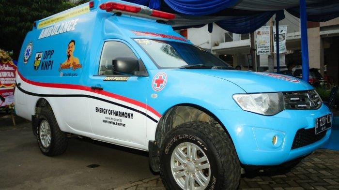 DPP KNPI Resmikan Ambulans untuk Masyarakat Indonesia