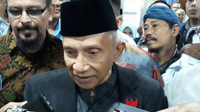 Isi Surat Prabowo untuk Amien Rais: Pak Amien Keutuhan Bangsa dan NKRI Lebih Saya Pentingkan