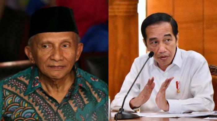 Amien Rais dan Jokowi