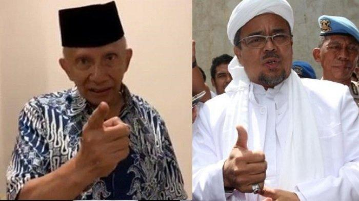 Amien Rais Koreksi Pernyataan Jusuf Kalla Soal Sambutan Masyarakat ke Rizieq Shihab