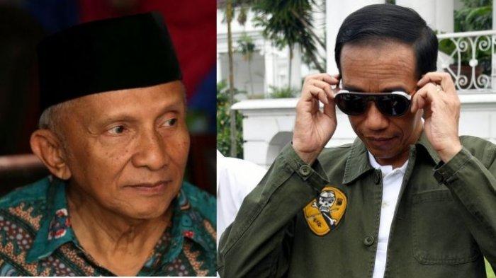 Amien Rais Puji Aksi Ketua BEM UI Beri Kartu Kuning untuk Jokowi