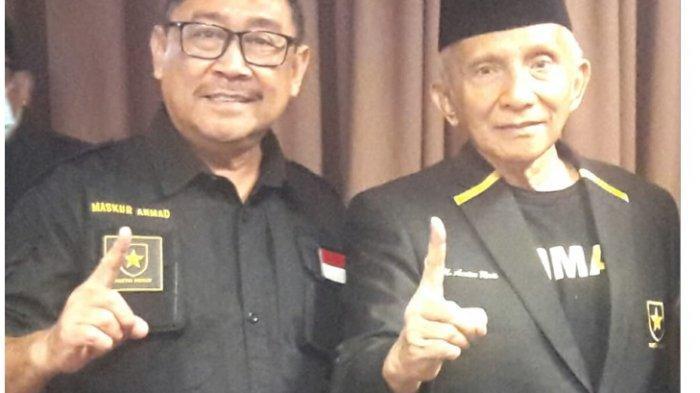 Panggilan Ilahi dan Sosok Amien Rais, 2 Alasan Maskur Ahmad Gabung Partai Ummat