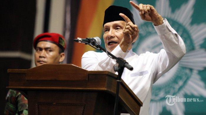 Cerita Amien Rais Kampanye 2019 Ganti Presiden di Kampung Akuarium