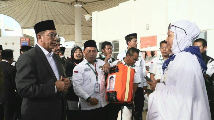 Amirul Hajj Langsung Pantau Kedatangan Jemaah Haji Indonesia di Jeddah