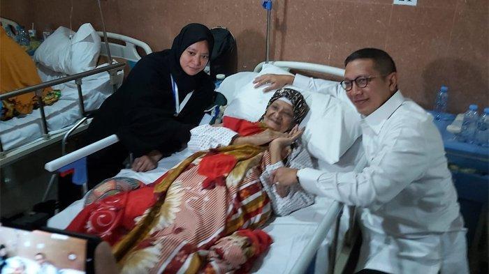 Amirul Hajj Lukman Hakim Saifuddin kunjungi Klini Kesehatan Haji Indonesia di Makkah, Sabtu (3/8/2019). Lukman apresiasi kinerja petugas kesehatan dalam membantu jemaah haji.