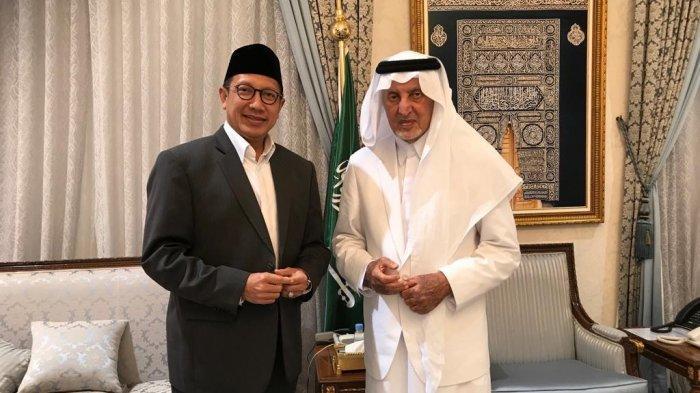Amirul Hajj Lukman Hakim Saifuddin bertemu dengan Gubernur Makkah