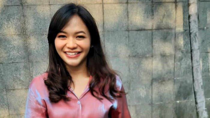 Amel Carla ditemui di Trans TV, Jalan Kapten Tendean, Mampang Prapatan, Jakarta Selatan, Kamis (23/7/2020).