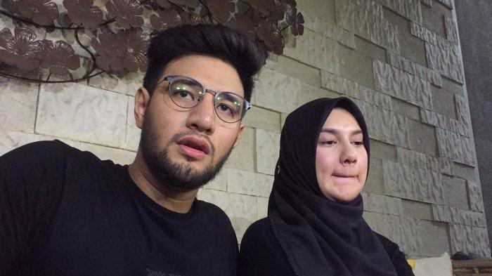 Ammar Zoni dan Irish Bella saat ditemui di kediamannya di kawasan Cinere, Depok, Jawa Barat (10/10/2019)