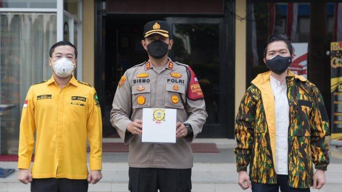 AMPG Salurkan Bantuan 1.200 Paket Nasi Siap Saji untuk Warga Terdampak Pandemi