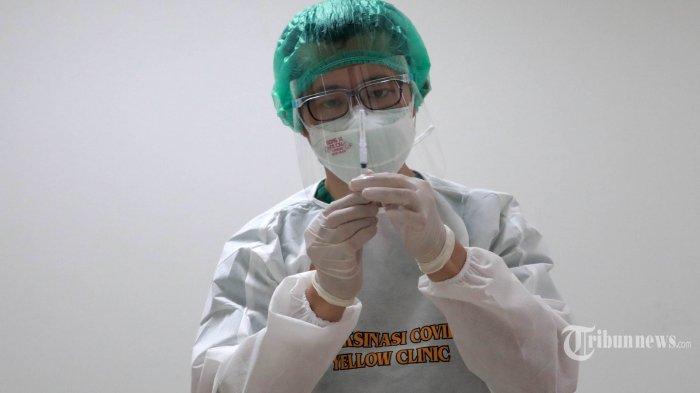 F-PKS DPRD DKI Optimistis Target Vaksinasi Covid-19 di Ibu Kota Tercapai