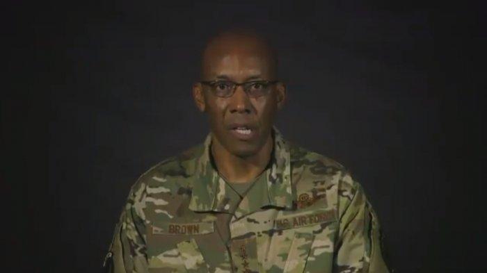 Pertama Kalinya dalam Sejarah, Kepala Angkatan Udara AS Dijabat Pria Afrika-Amerika