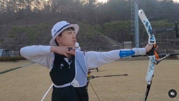 An San, atlet panahan Korea Selatan
