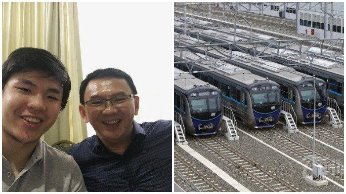 Jokowi Sebut Ahok dalam Pembangunan MRT, Anak Ahok/BTP: Pa, Ini MRT Keren Banget, Papa Harus Coba