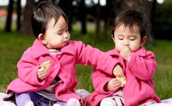Anak kembar memiliki bahasa kode yang tidak dimengerti orang luar selain mereka sendiri.