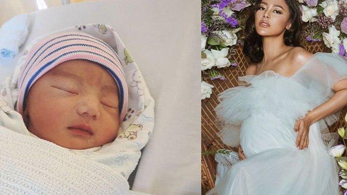 Puteri Indonesia 2013 dan model Whulandary Herman diketahui telah melahirkan anak pertamanya.