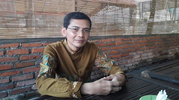 Anak asuh tertua Abah Surya Atmaja, Hadi Pranoto dalam jumpa pers di Dramaga, Kabupaten Bogor, Kamis (1/7/2020).