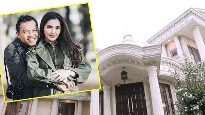 Rumah Anang Hermansyah dan Ashanty di Cinere Jakarta Selatan yang rencananya mau dijual