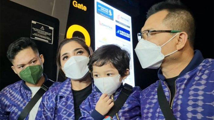 Anang dan Ketiga Anaknya Lebaran di Dubai, Aurel Hermansyah Ingin Ikut, Ashanty: Ada yang Aneh