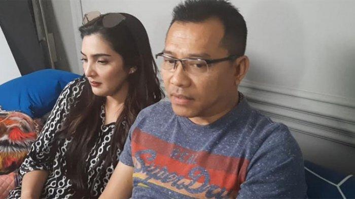 Anang dan Ashanty saat ditemui di kawasan Jakarta Selatan, Sabtu (19/10/2019).