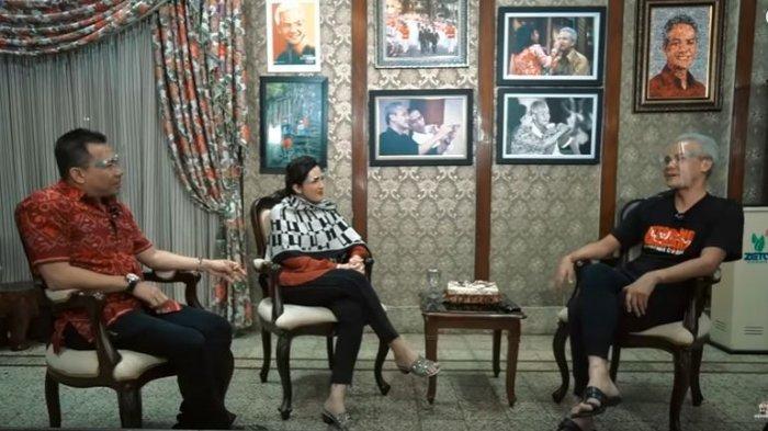 Anang Hermansyah, Ashanty, dan Ganjar Pranowo.