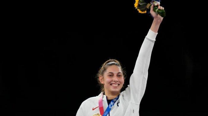 Keren! Anastasija Zolotic Torehkan Dua Sejarah dari Kemenangannya di Olimpiade Tokyo 2020