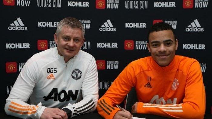 JADWAL Live Streaming Man United vs Newcastle, Mason Greenwood Perpanjang Kontrak di Old Trafford
