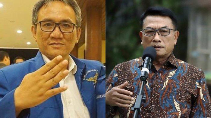 Partai Demokrat Kubu Moeldoko Disebut Gagal Daftar di Kemenkumham, Andi Arief: Kudeta Gagal