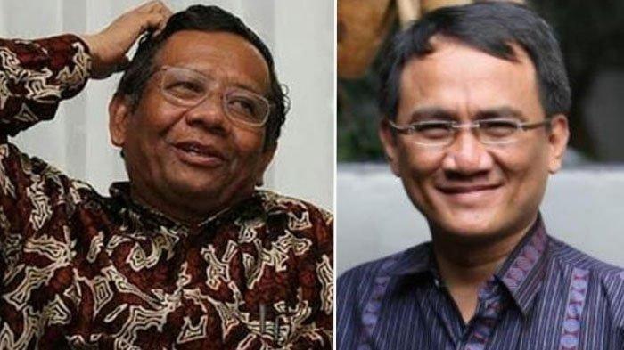 Jawaban Telak Mahfud MD Saat 'Perang' Komentar dengan Andi Arief Soal Presidential Threshold