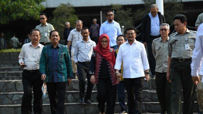 Kementan Tegaskan Sertijab Syahrul YL dan Andi Amran Sudah Sesuai Jadwal