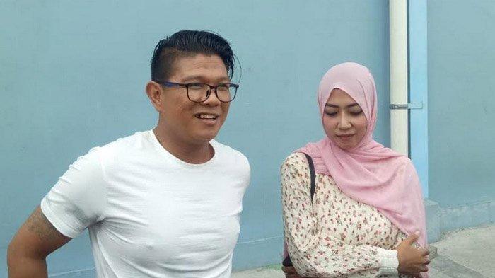 Andika Mahesa usai menjadi bintang tamu dalam acara pagi dikawasan Tendean, Jakarta Selatan, Kamis (18/4/2019).
