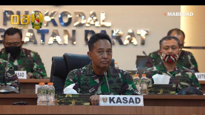 KSAD Pimpin Sertijab Pangdam XVI/Pattimura, Kapushubad, Serta Laporan Korps Kenaikan Pangkat 20 Pati
