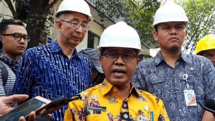 Kepala Dinas Lingkungan Hidup DKI Jakarta, Andono Warih saat ditemui di area PT Hong Xin Steel, Rawa Terate, Cakung, Jakarta Timur, Kamis (8/8/2019)