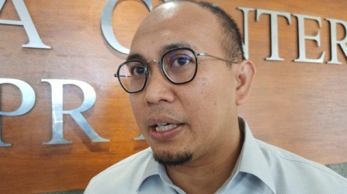 Politikus Gerindra Andre Rosiade di Gedung Nusantara I, Kompleks Parlemen Senayan, Jakarta Pusat, Rabu (4/12/2019).
