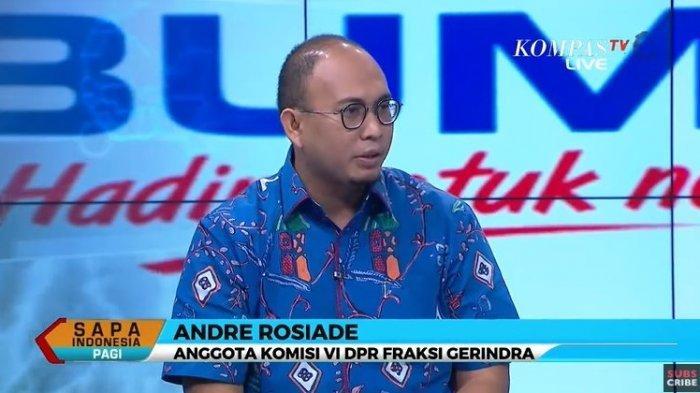 Soal Rangkap Jabatan di BUMN, Andre Rosiade Singgung Nama Rini Soemarno: Komisaris Cuma Pajangan