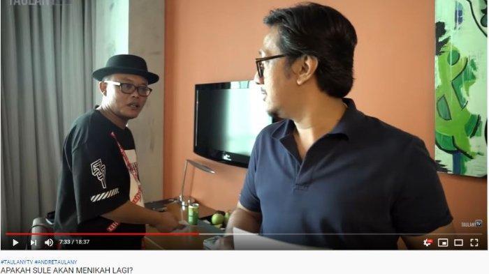 Andre Taulany dan Sule berada di kamar Yuni Shara.