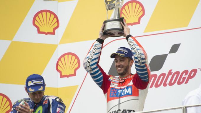 Marc Marquez bilang Susah Dikejar Andrea Dovizioso di Sirkuit Sepang